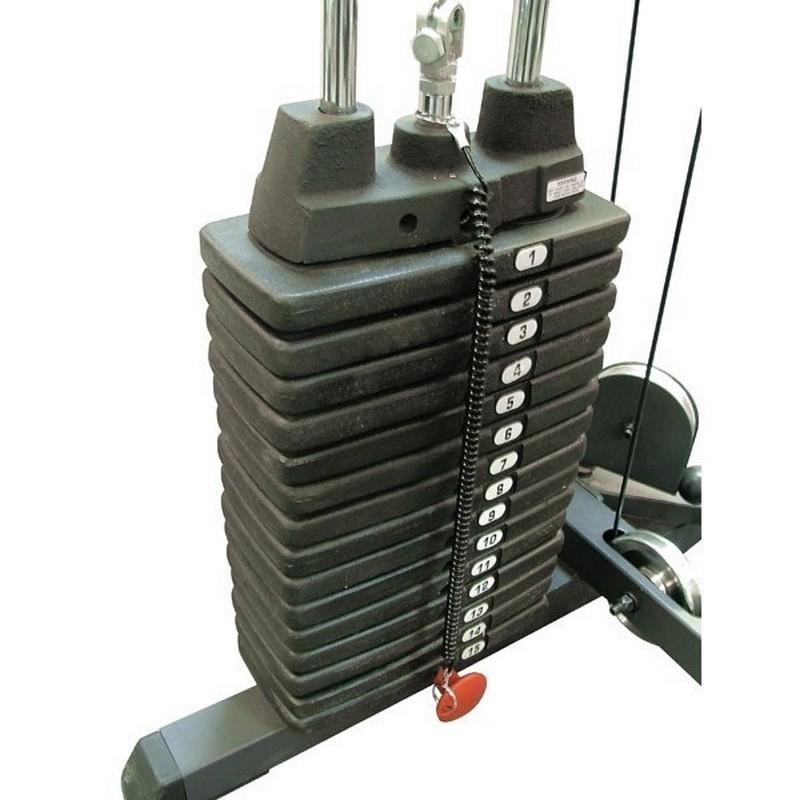 Весовой стек к силовым тренажерам Body Solid SP50