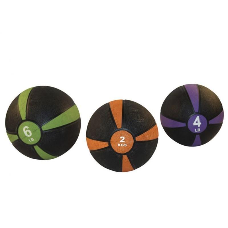 Медицинский мяч Fitex 1 кг, черный с оранжевым Fitex Pro FTX-1212-1kg