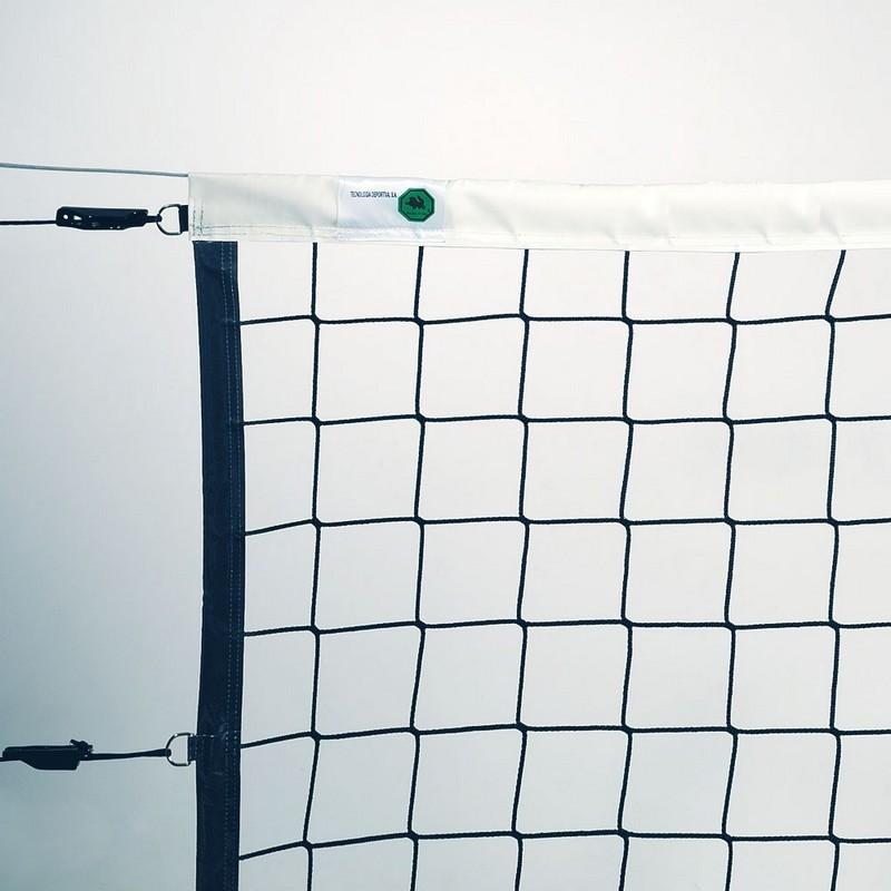 Сетка волейбольная проф. EL LEON DE ORO 114443035002, 9,5х1м, 4мм ПП, яч. 10 см