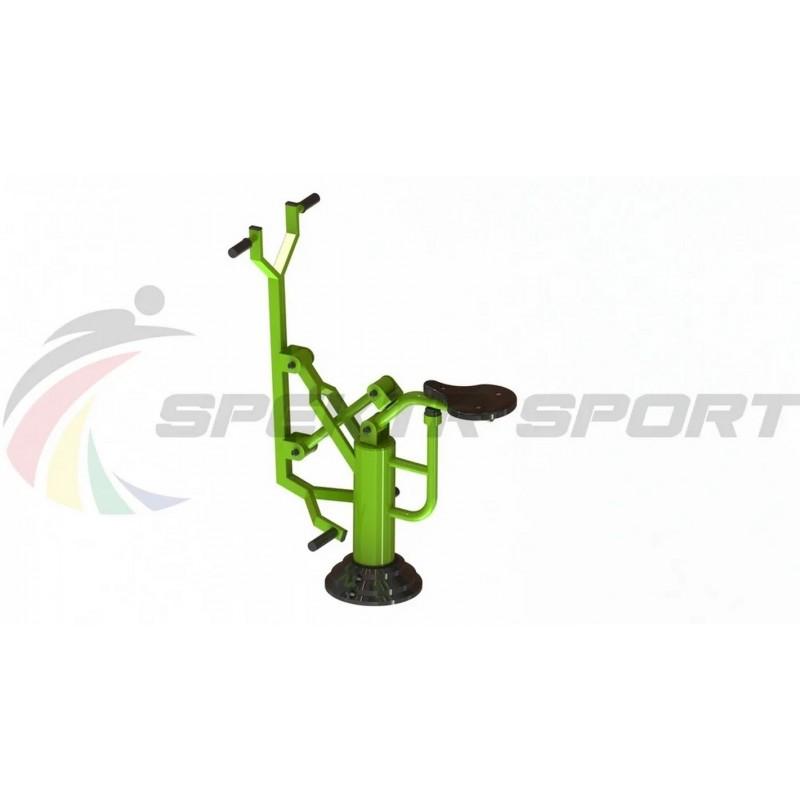 Уличный тренажер взрослый Наездник для одного Spektr Sport ТС 106