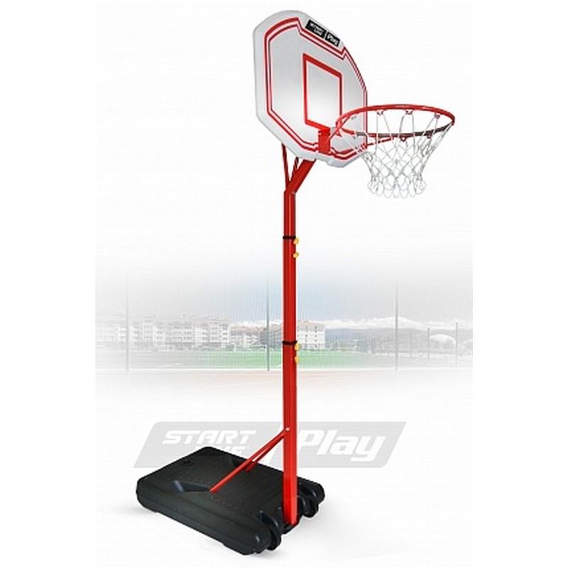 Баскетбольная стойка Start Line Junior 003 (210-260 см, р-р. щита 91x61x3 см, кольцо 45 см) SLP-003