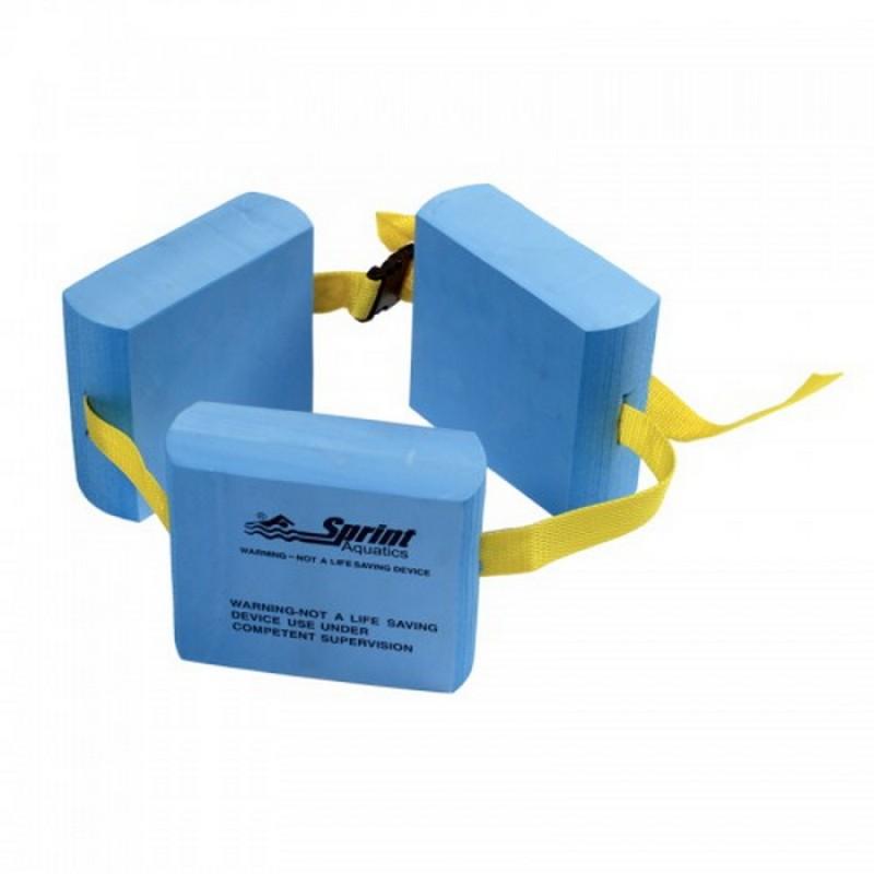 Пояс для обучения плаванию Sprint Aquatics 3-Piece Belt Float 670