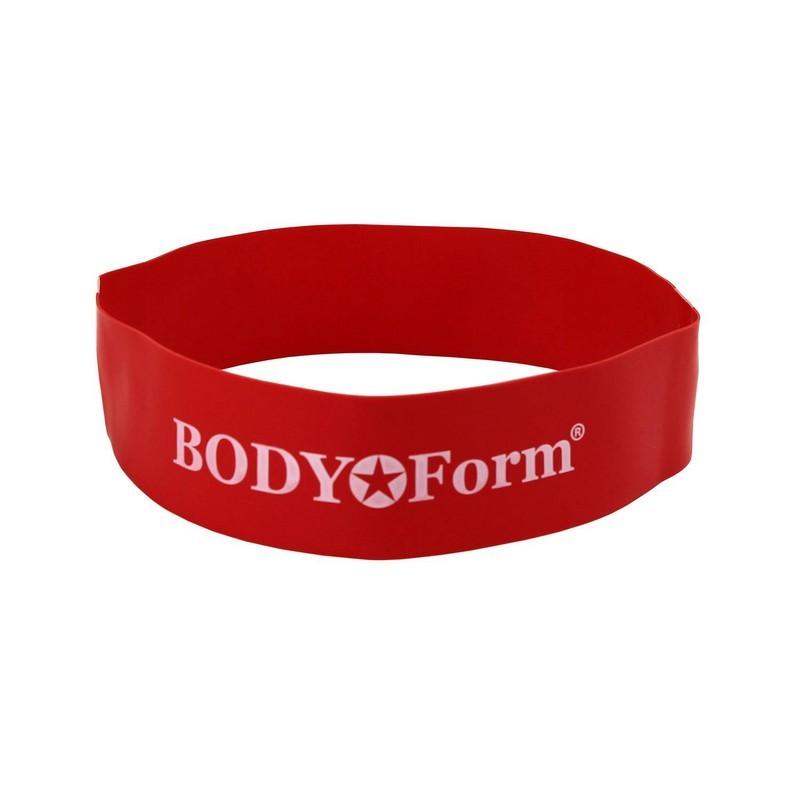 Петля Body Form BF-RL100 18кг/60см красный