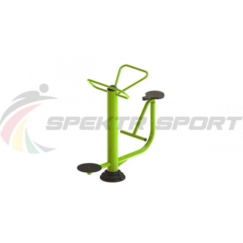 Уличный тренажер взрослый Твистер+Диск для двоих Spektr Sport ТС 204