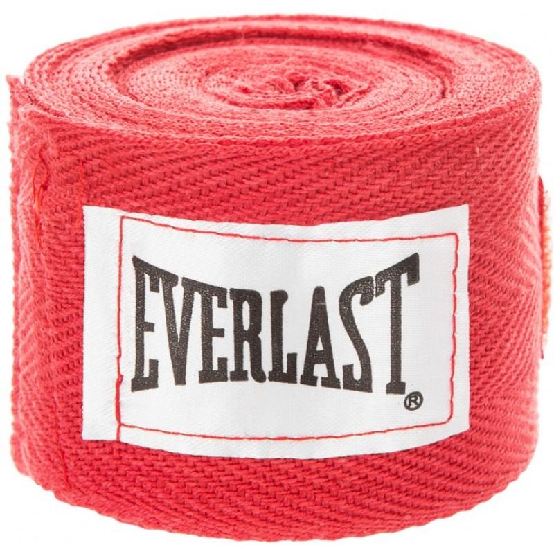 Бинты Everlast 2,75 м (пара) 4455RPU красный
