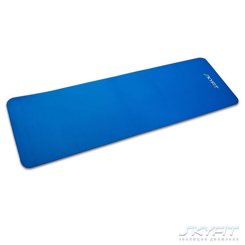 Гимнастический коврик SkyFit 180х59х1см SF-GM180 синий
