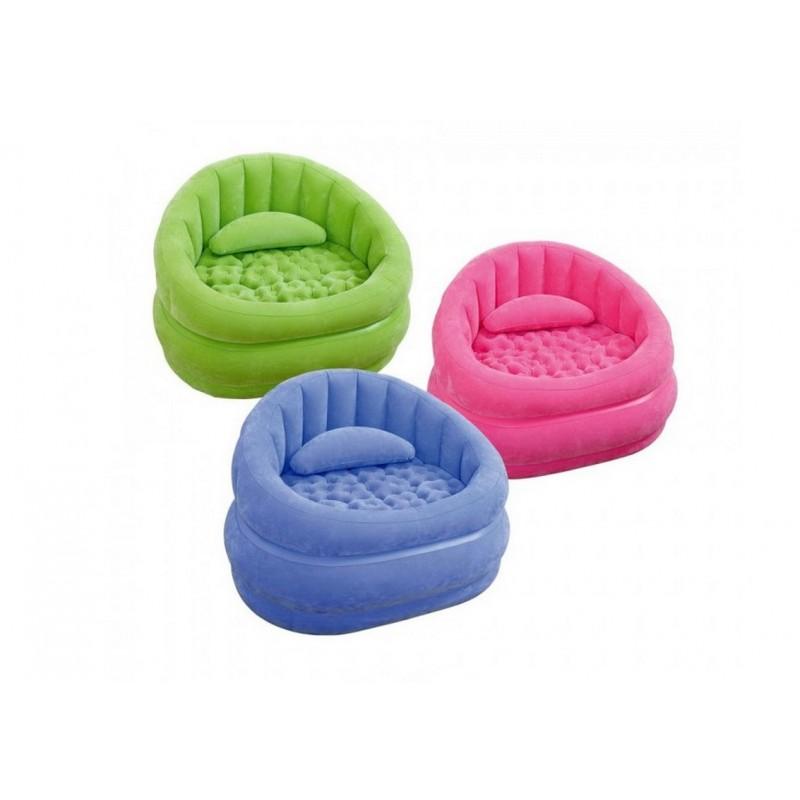 Кресло 91х102х65 см Intex 68563 3 цвета
