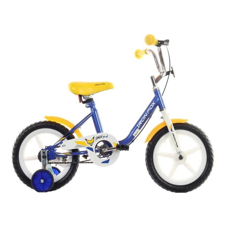 Велосипед Iron Fox Fly 14 2017 синий