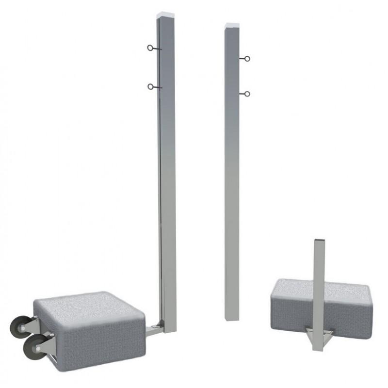 Бадминтонные алюминиевые мобильные стойки SportWerk SpW-AB-2