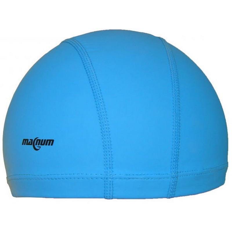Шапочка для плавания силиконовая SR Синяя PU 002