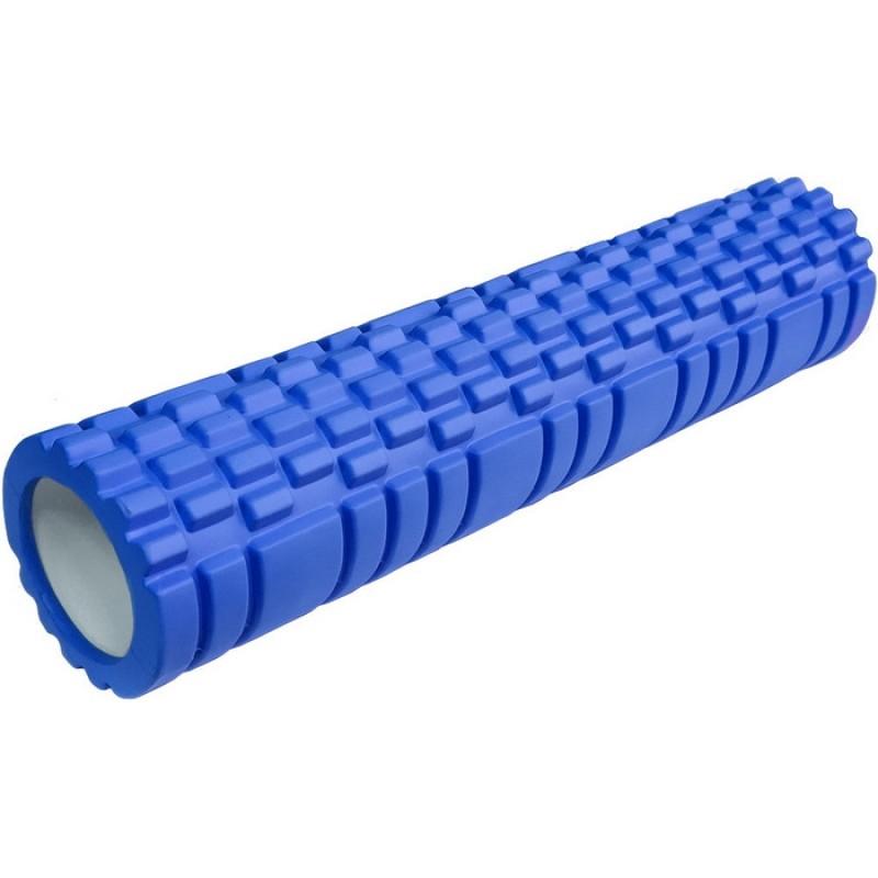 Ролик для йоги (синий) 61х13,5см ЭВА/АБС E29390
