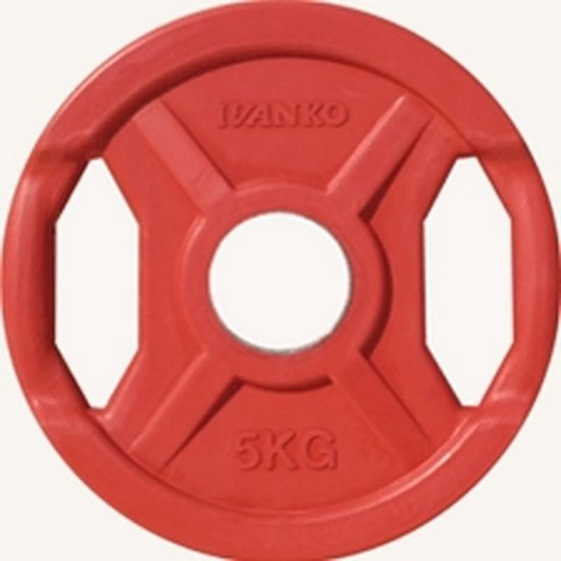 Диск d51 мм Johns 5 кг DR71022 - 5С красный