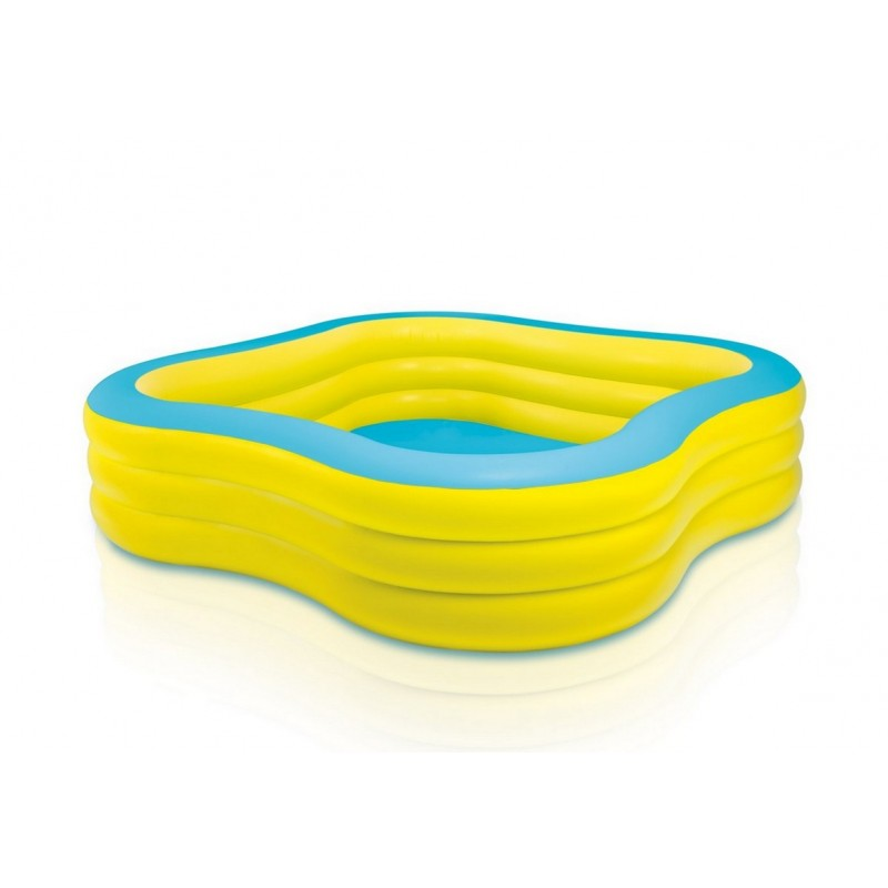 Детский надувной бассейн 229х229х56см Intex Семейный 57495