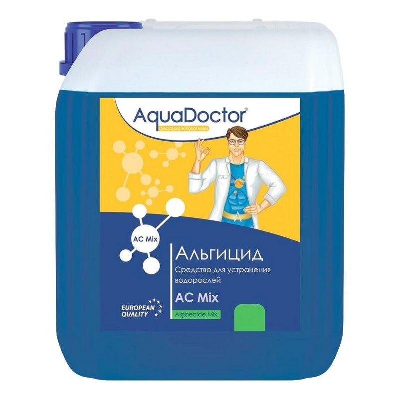 Альгицид, 10л канистра, жидкость для шоковой борьбы с водорослями, бактериями AquaDoctor AQ21870