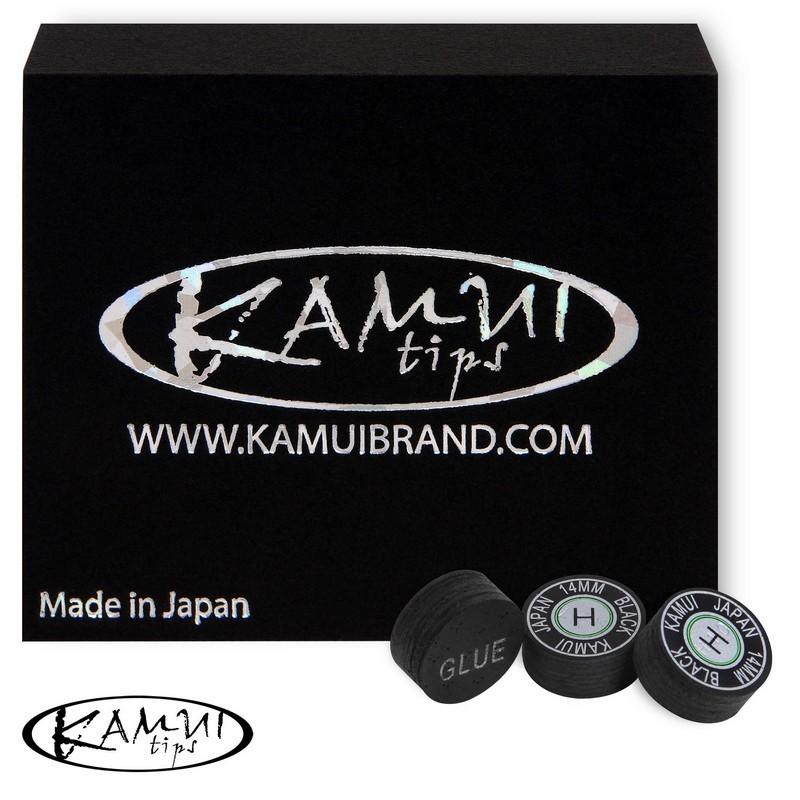 Наклейка для кия Kamui Black ?14мм Medium 1шт.