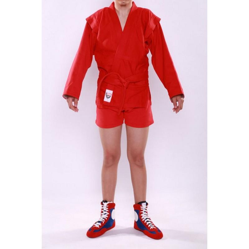Куртка Самбо с подкладкой К-5 красная