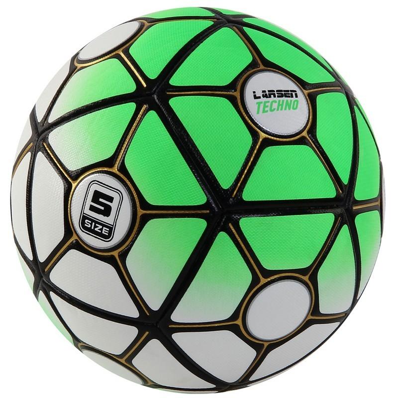 Мяч футбольный Larsen Techno Green р.5