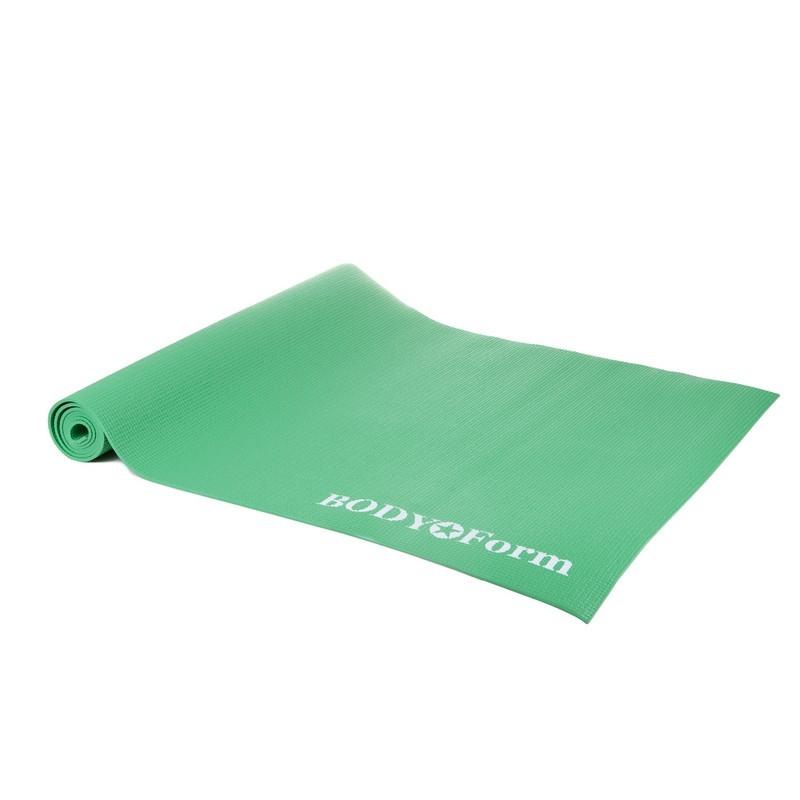 Коврик гимнастический Body Form 173x61x0,4 см BF-YM01 зеленый