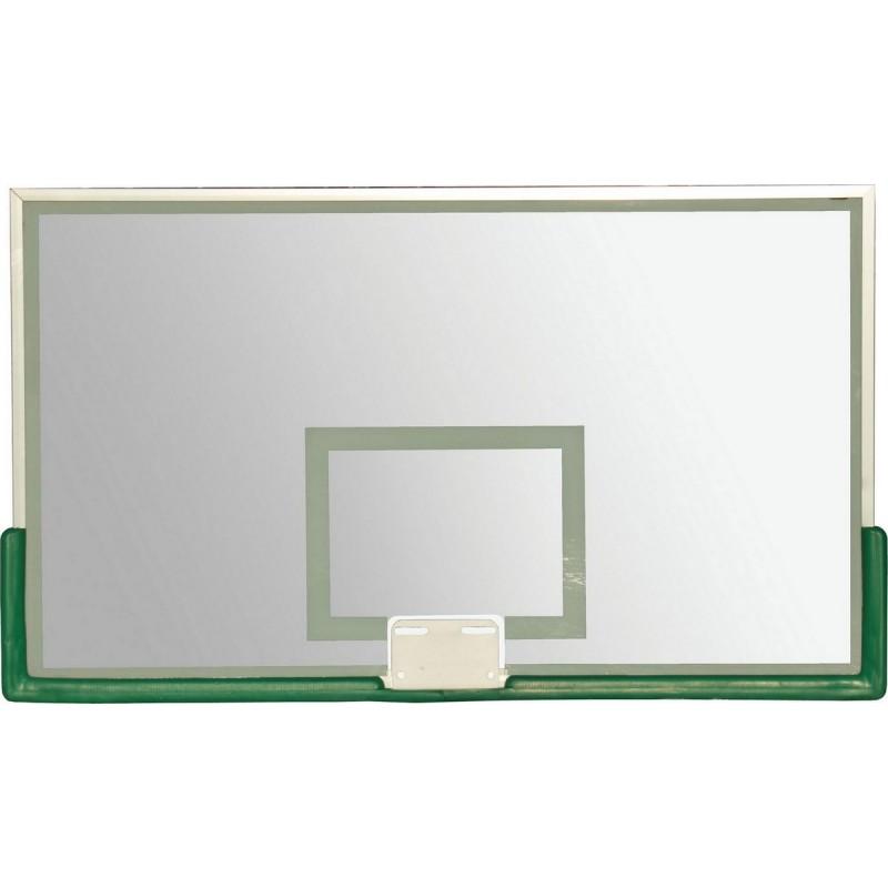 Щит баскетбольный 180х105см ZSO проф., 10 мм, без защиты, без кольца TB 8103
