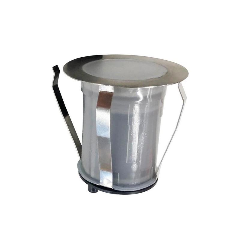 Прожектор LED AquaViva 6led 0,8W12V White, AISI316 уличный