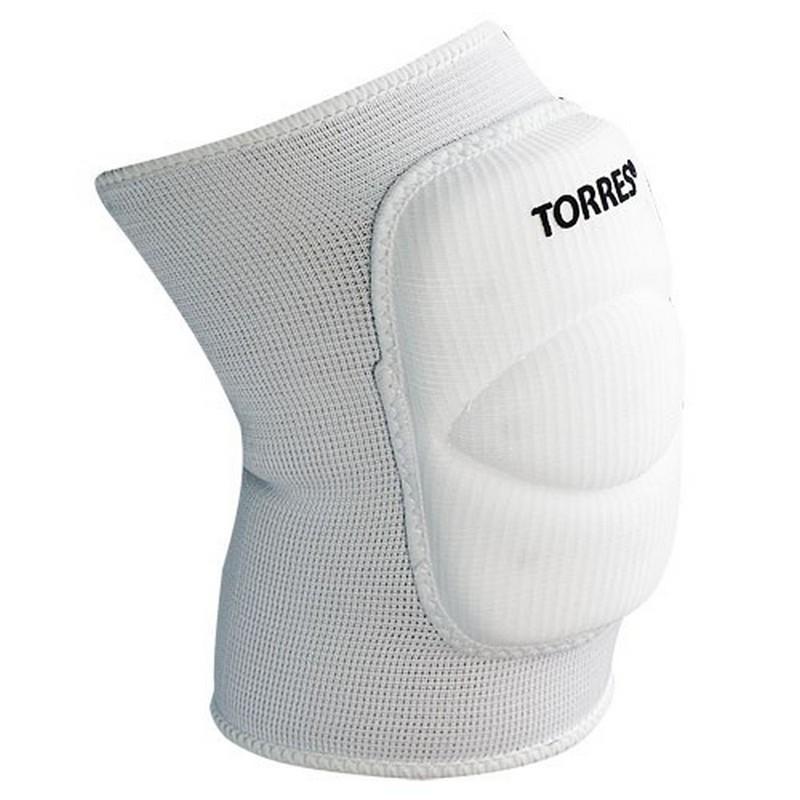 Наколенники спортивные Torres Classic белые