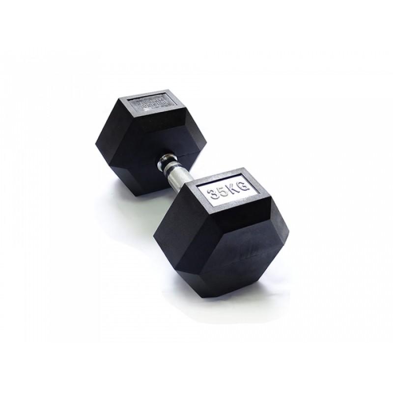 Гантель гексагональная 35 кг Original Fit.Tools FT-HEX-35