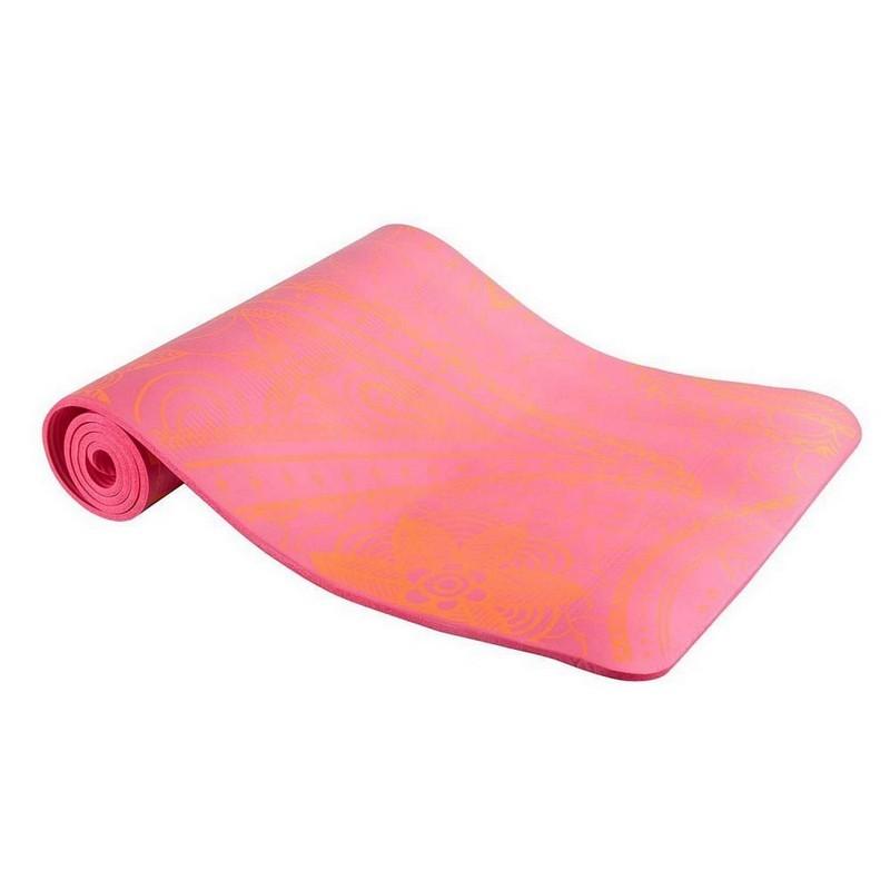 Коврик гимнастический Body Form 183x61x1,0 см BF-YM05 оранжевый