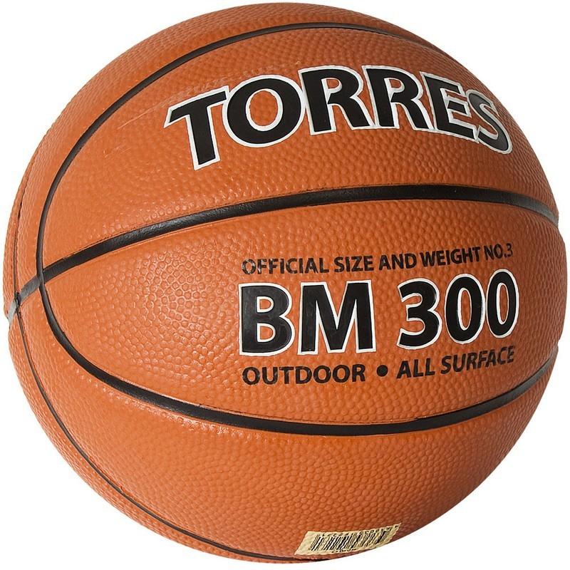 Мяч баскетбольный Torres BM300 B02013 р.3