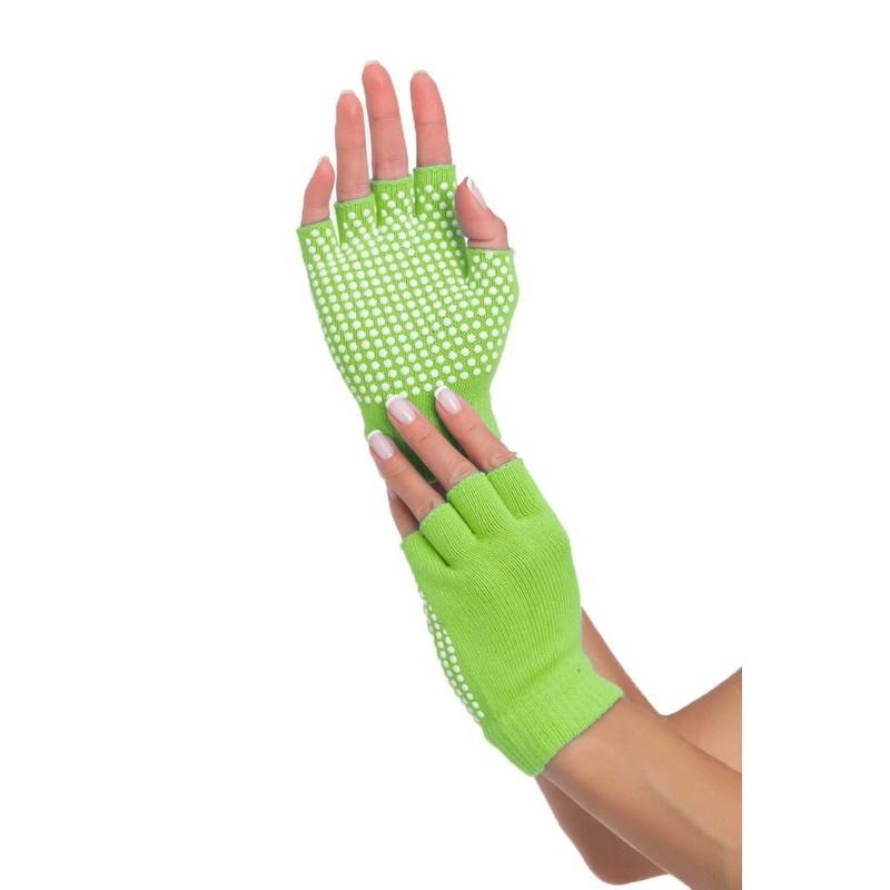 Перчатки противоскользящие Bradex SF 0206 салатовый