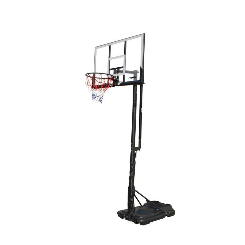 """Мобильная баскетбольная стойка Proxima 50"""", поликарбонат, S025S"""