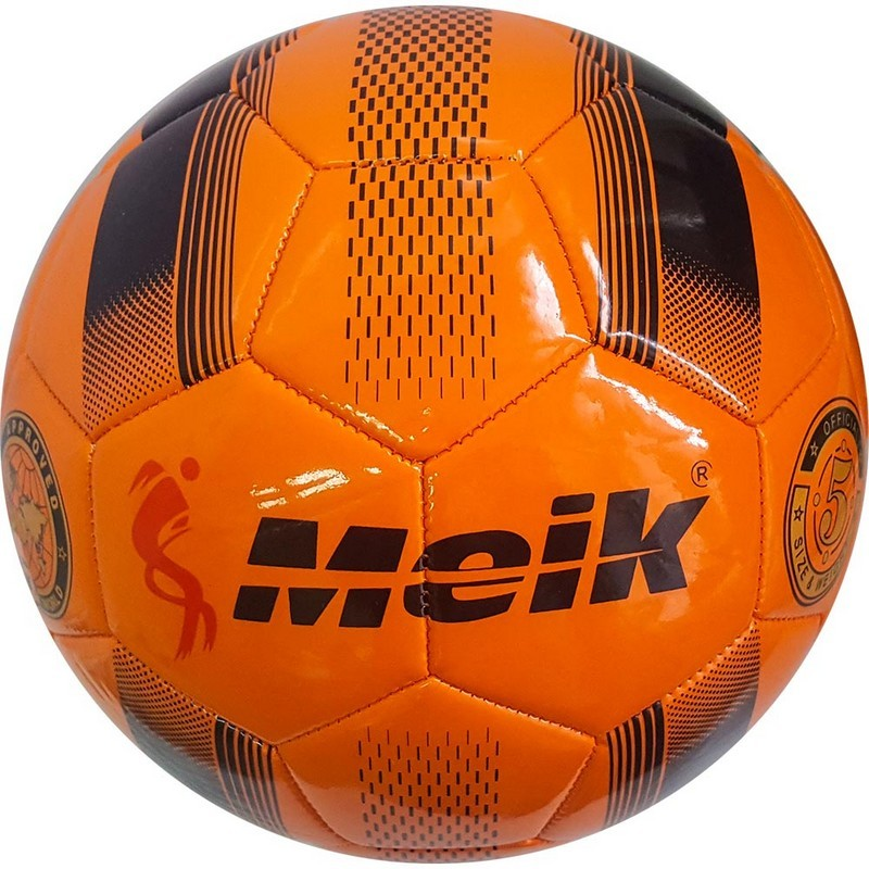 Мяч футбольный Meik 078 B31315-5 р.5 оранжевый