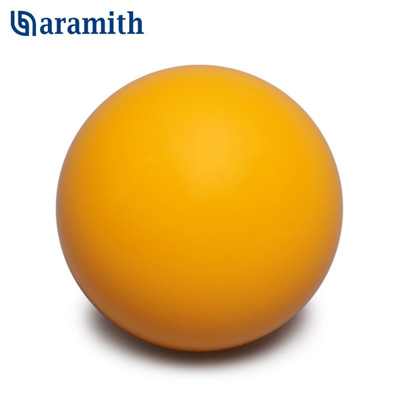 Биток Aramith Premier Pyramid ?60,3мм желтый