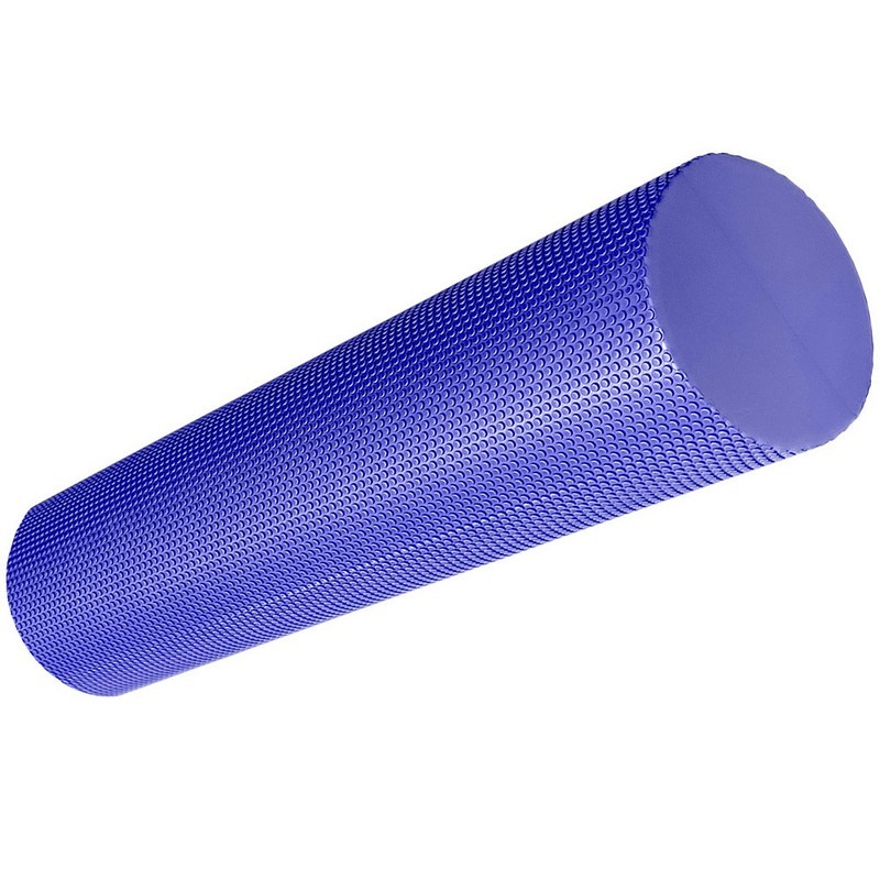 Ролик для йоги полумягкий Профи 45x15cm фиолетовый ЭВА B33084-3