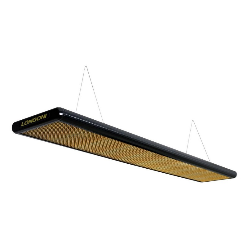 Лампа плоская Nautilus (черная) пирамида Longoni 10379
