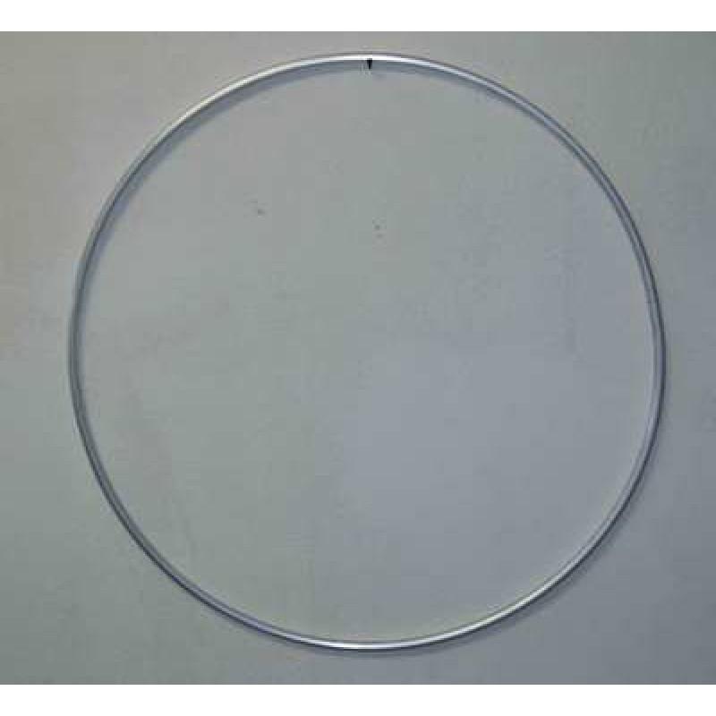 Обруч алюминиевый гимнастический окрашенный, SpStyle, d=700 мм, 375г (10шт)
