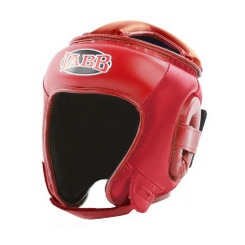Шлем бокс.(иск.кожа) Jabb JE-2093(P) красный