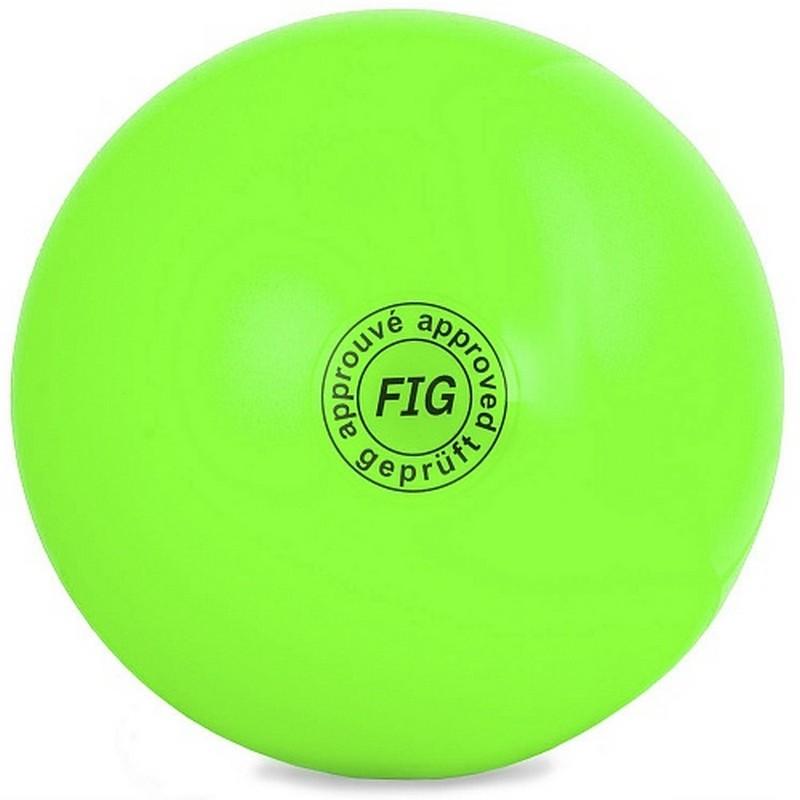 Мяч для художественной гимнастики d15см GC 01 зелёный
