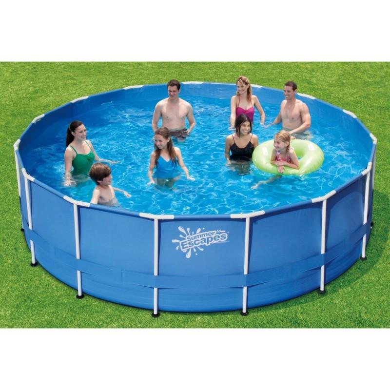 Каркасный бассейн SummerEscapes 457х132см Polygroup P20-1552-Z