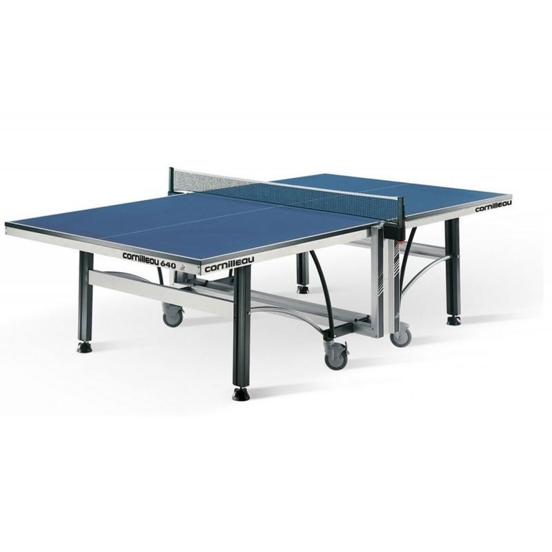 Теннисный стол Cornilleau Competition 640 ITTF 22 мм, blue