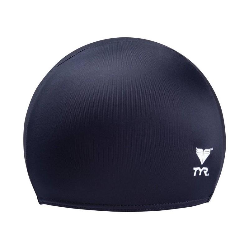 Шапочка для плавания Solid Lycra Cap, лайкра, LCY/001, черный
