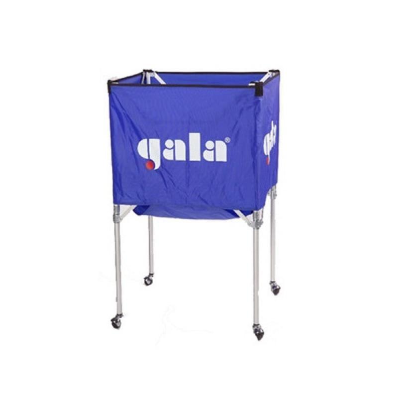 Тележка для волейбольных мячей Gala 2331082/XX41009, на 25-30 шт., сине-белая