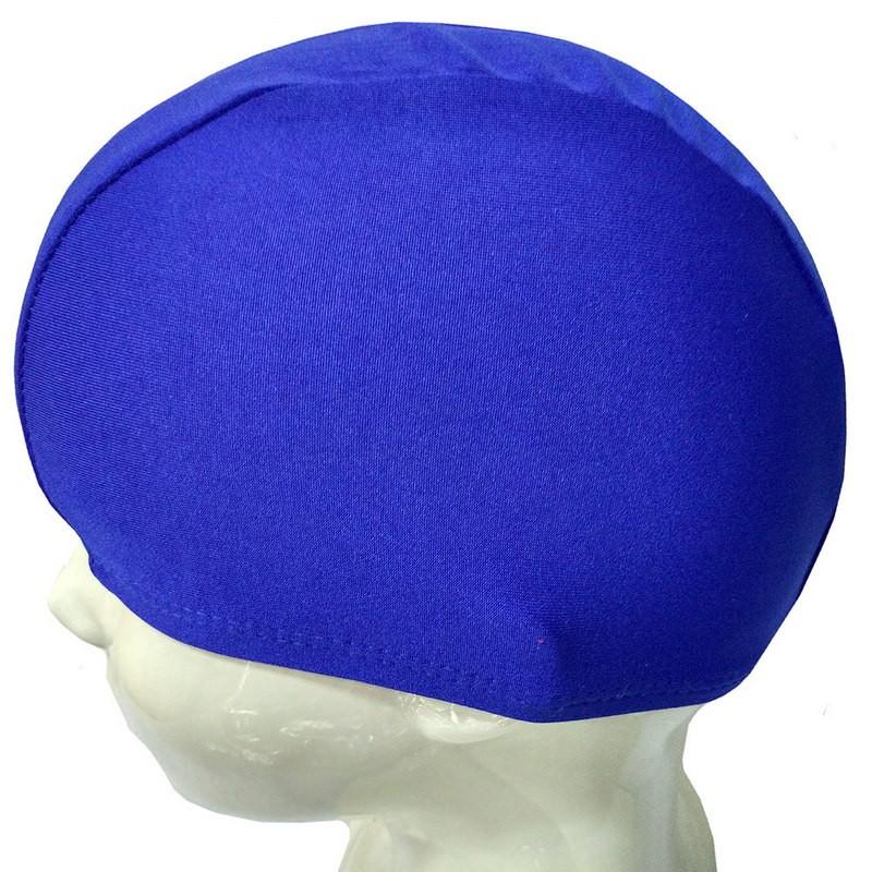 Шапочка для плавания текстиль детская (синяя) B26291