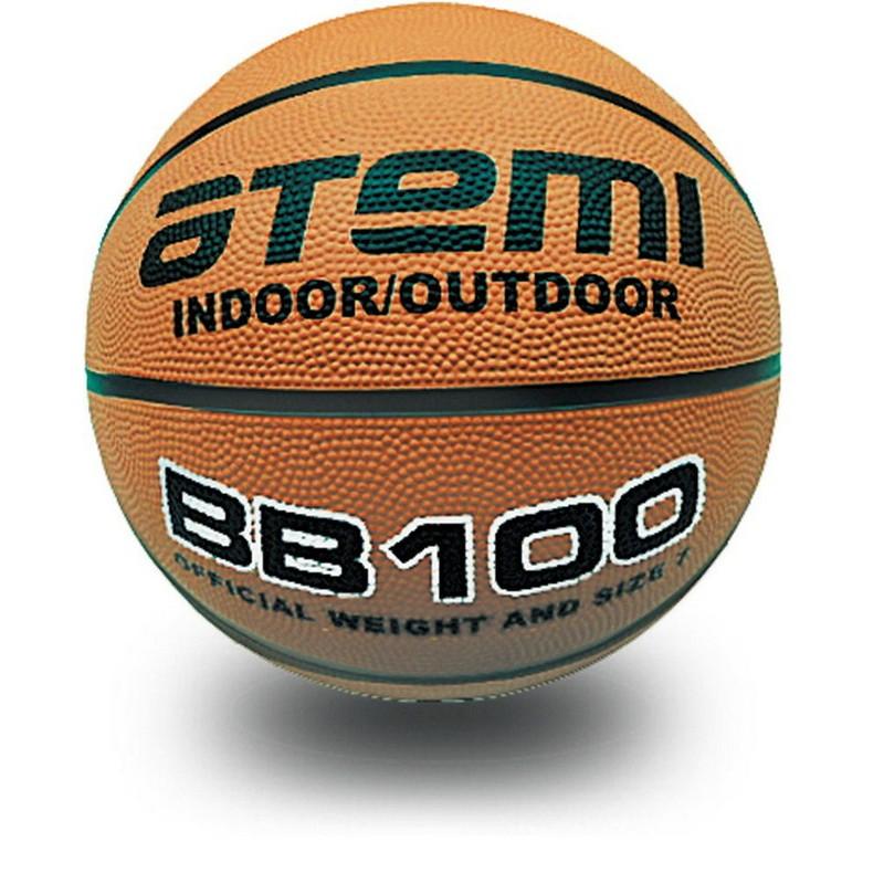 Баскетбольный мяч Atemi р.5, резина, 8 панелей, BB100
