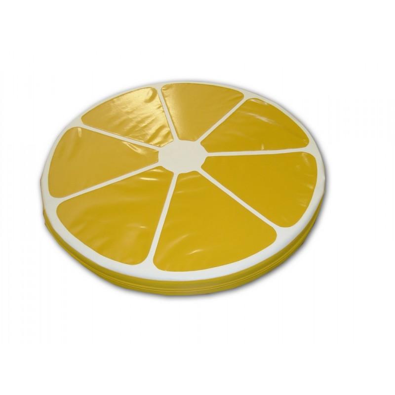 Мат ФСИ Лимонная долька d 100х10см (винилискожа, поролон) 6335