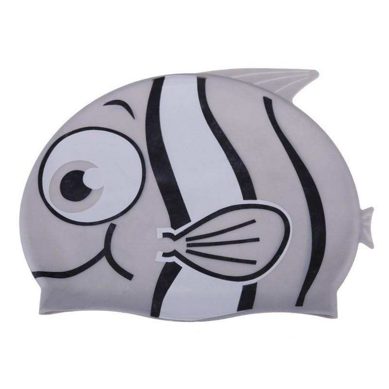Шапочка поавательная Рыбка YS10 серый