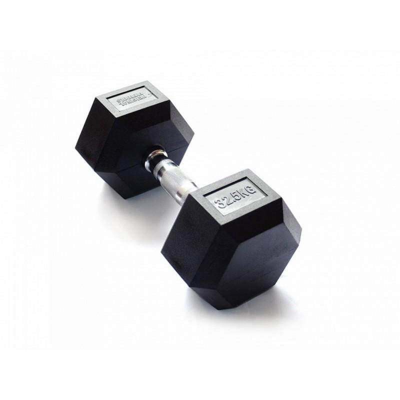 Гантель гексагональная 32,5 кг Original Fit.Tools FT-HEX-32,5