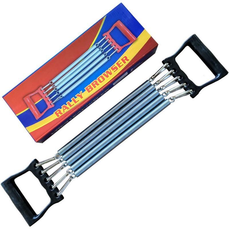 Эспандер грудной 5 пружин, ручки пластик B24101