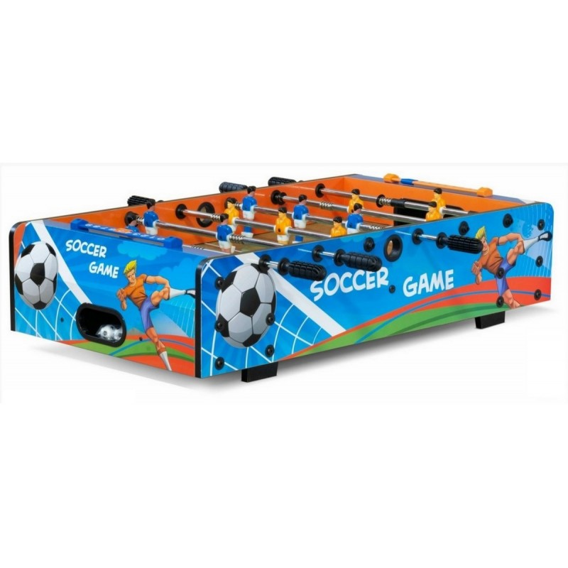 Игровой стол настольный - футбол Garlando F-Mini-II Telescopic 54.208.03.0 цветной