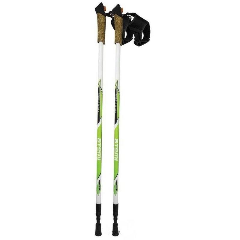 Палки для скандинавской ходьбы Atemi 2-секционные 86-135 см ATP-04