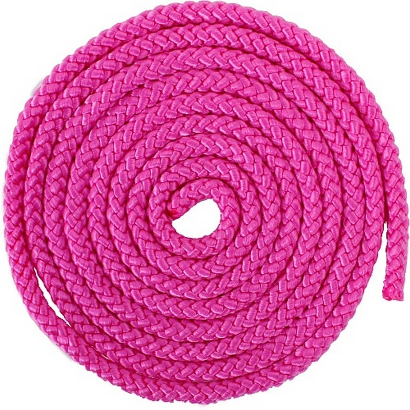 Скакалка гимнастическая AB255 розовый